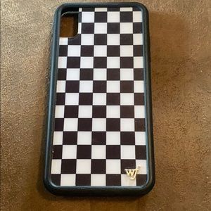 Wildflower IPhone XS Max Checkered Case